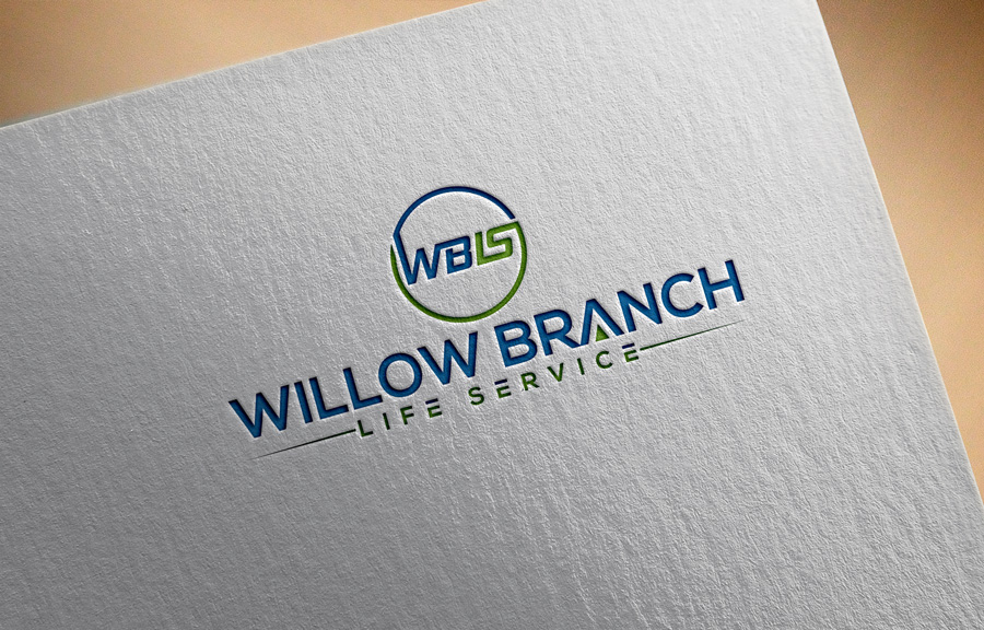 Logo Design by Magic Tools - Entry No. 27 in the Logo Design Contest Artistic Logo Design for Willow Branch Life Service.