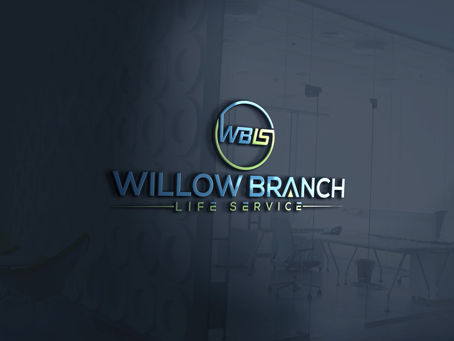 Logo Design by Magic Tools - Entry No. 28 in the Logo Design Contest Artistic Logo Design for Willow Branch Life Service.
