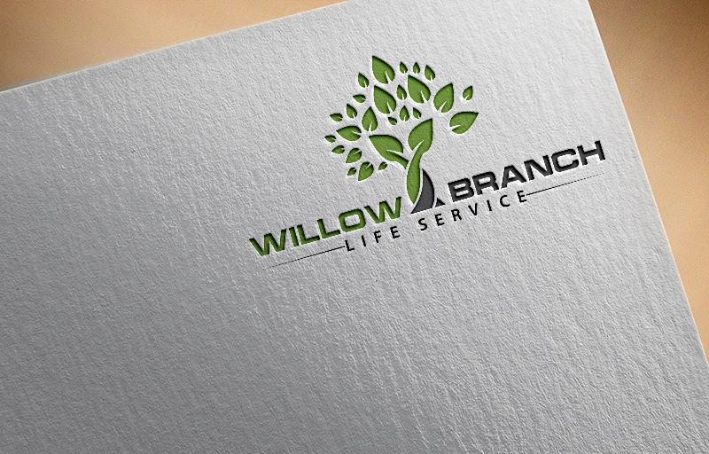 Logo Design by Tuhin Mazumder - Entry No. 31 in the Logo Design Contest Artistic Logo Design for Willow Branch Life Service.
