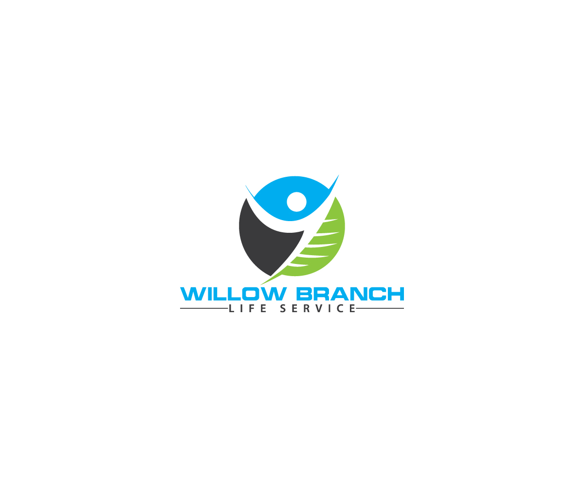 Logo Design by Tuhin Mazumder - Entry No. 32 in the Logo Design Contest Artistic Logo Design for Willow Branch Life Service.