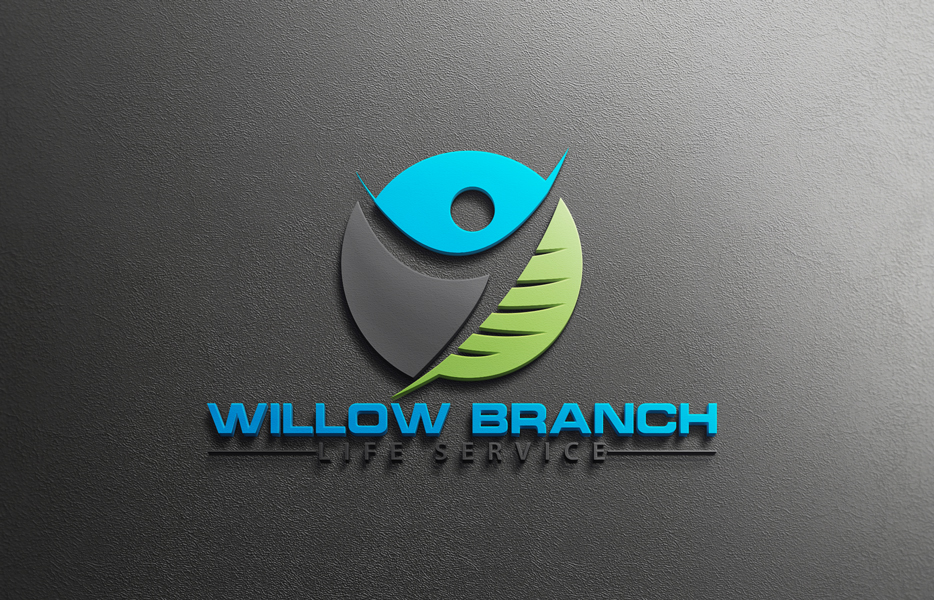 Logo Design by Tuhin Mazumder - Entry No. 33 in the Logo Design Contest Artistic Logo Design for Willow Branch Life Service.