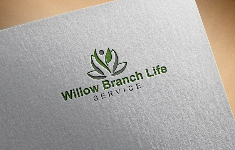 Logo Design by Rubel Tm - Entry No. 34 in the Logo Design Contest Artistic Logo Design for Willow Branch Life Service.