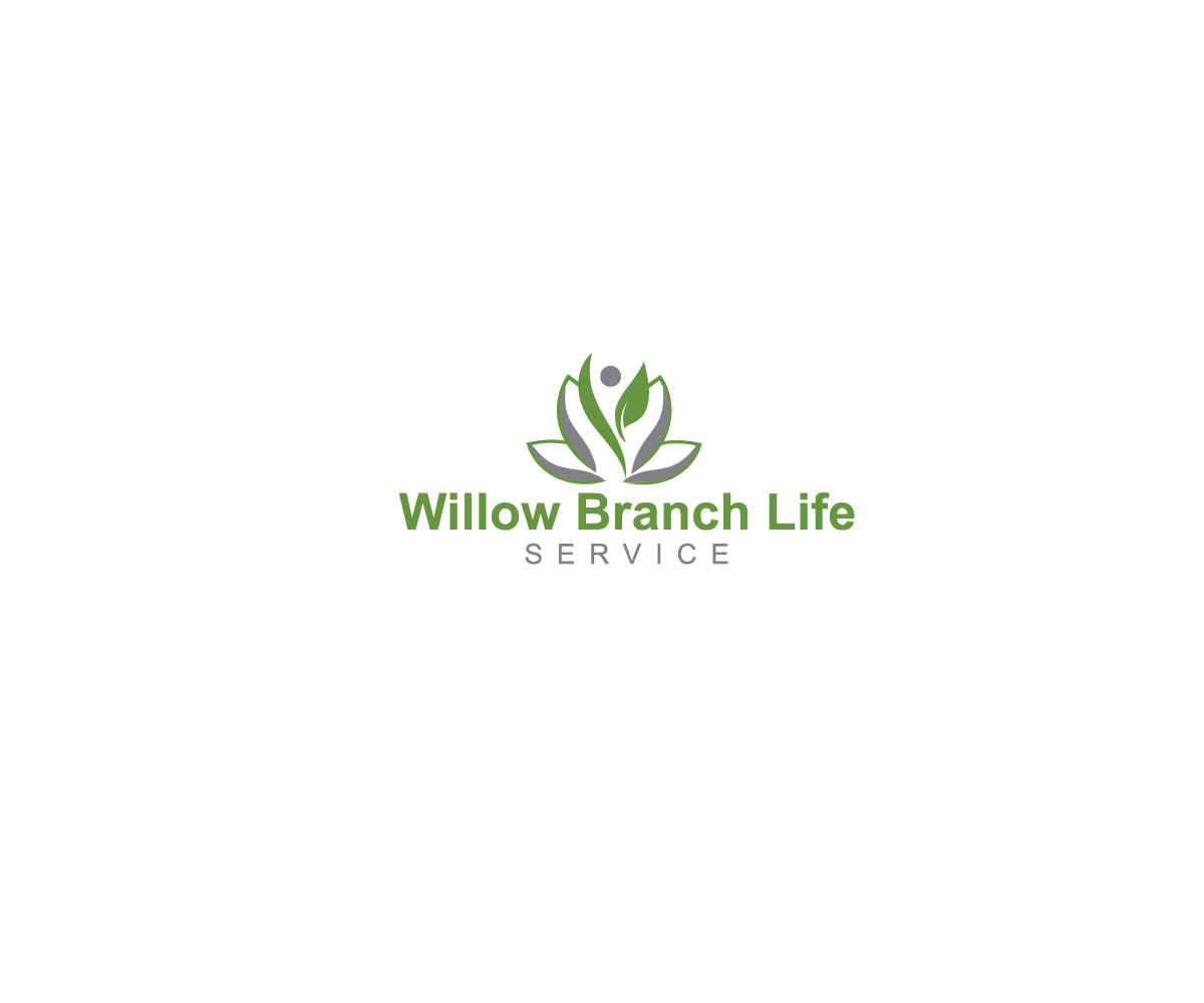 Logo Design by Rubel Tm - Entry No. 36 in the Logo Design Contest Artistic Logo Design for Willow Branch Life Service.