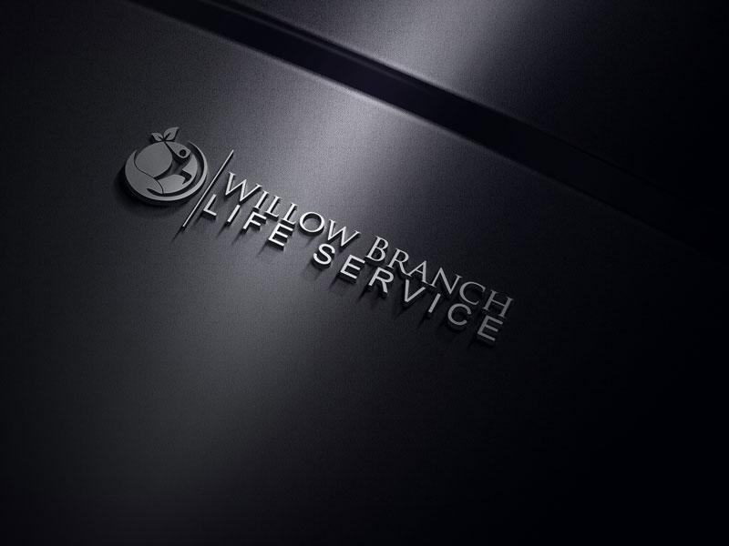 Logo Design by Hire Designer - Entry No. 38 in the Logo Design Contest Artistic Logo Design for Willow Branch Life Service.