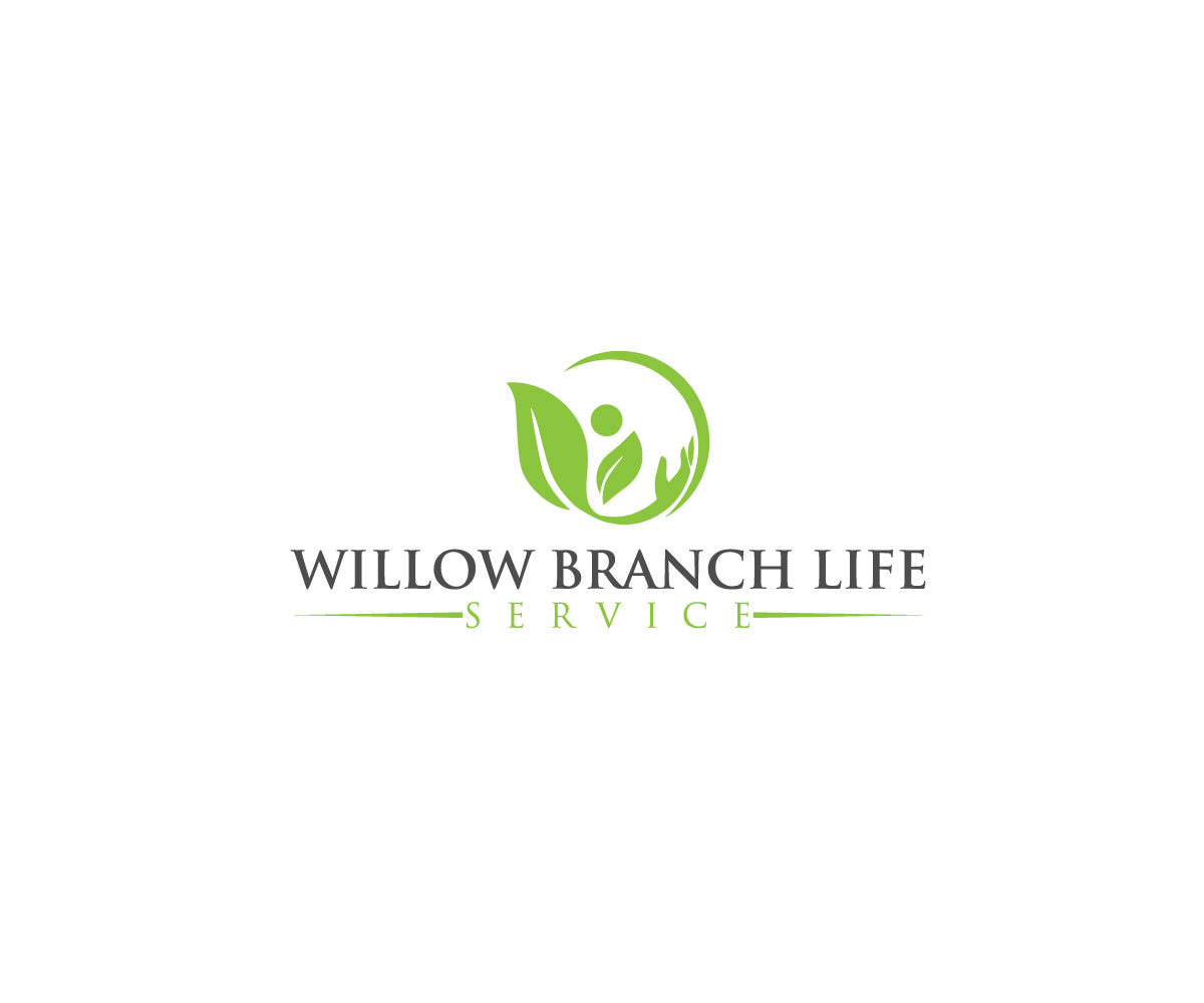 Logo Design by Mariam Mou - Entry No. 40 in the Logo Design Contest Artistic Logo Design for Willow Branch Life Service.