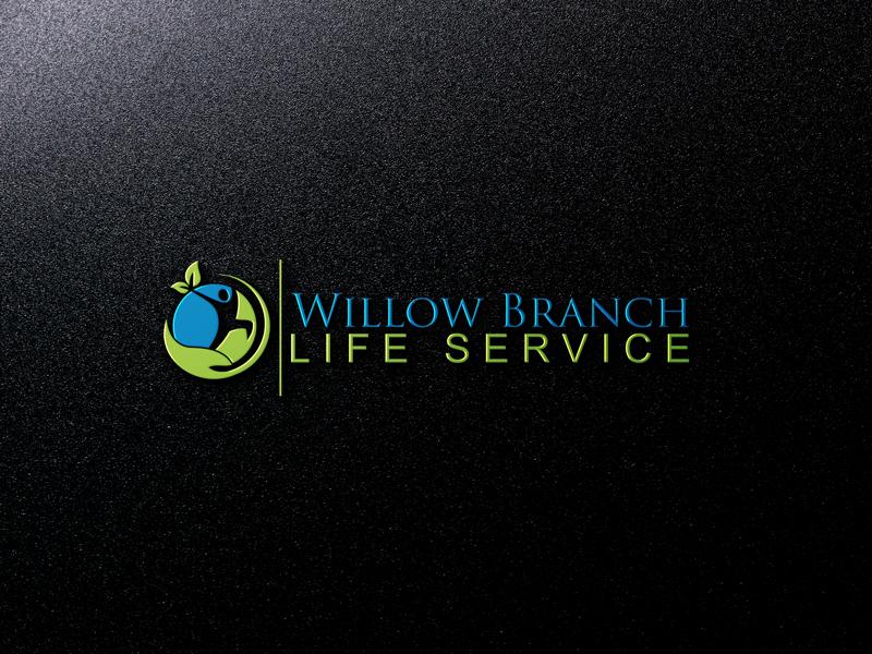 Logo Design by Hire Designer - Entry No. 41 in the Logo Design Contest Artistic Logo Design for Willow Branch Life Service.