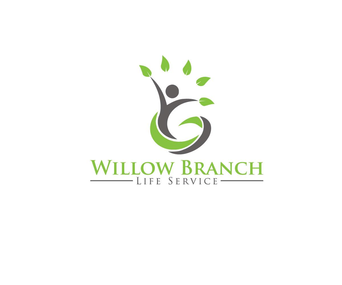 Logo Design by Highexpert Design - Entry No. 43 in the Logo Design Contest Artistic Logo Design for Willow Branch Life Service.