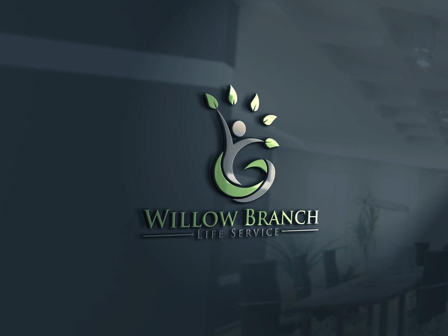 Logo Design by Highexpert Design - Entry No. 44 in the Logo Design Contest Artistic Logo Design for Willow Branch Life Service.