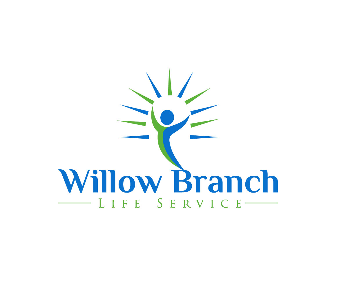 Logo Design by Md nayeem Khan - Entry No. 45 in the Logo Design Contest Artistic Logo Design for Willow Branch Life Service.