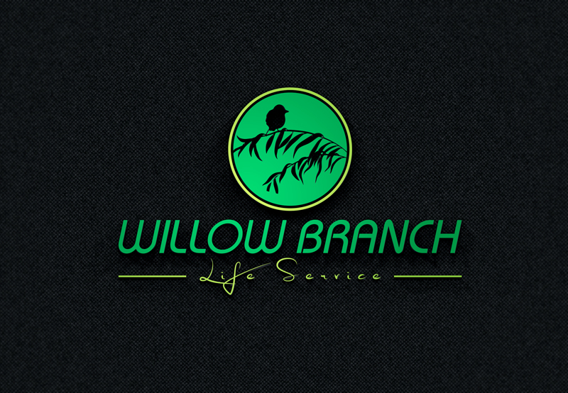 Logo Design by Taher Patwary - Entry No. 46 in the Logo Design Contest Artistic Logo Design for Willow Branch Life Service.