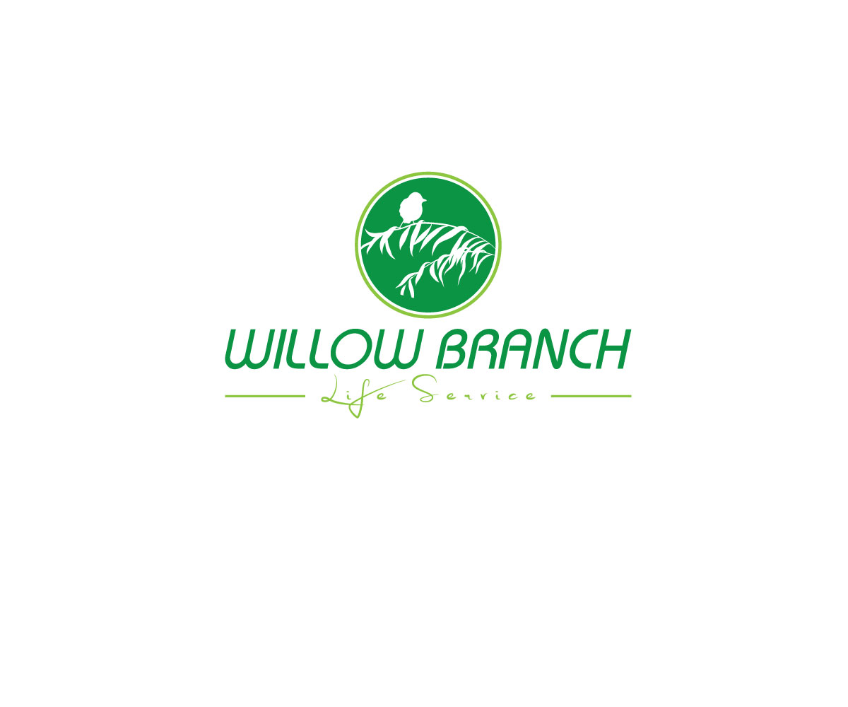 Logo Design by Taher Patwary - Entry No. 48 in the Logo Design Contest Artistic Logo Design for Willow Branch Life Service.