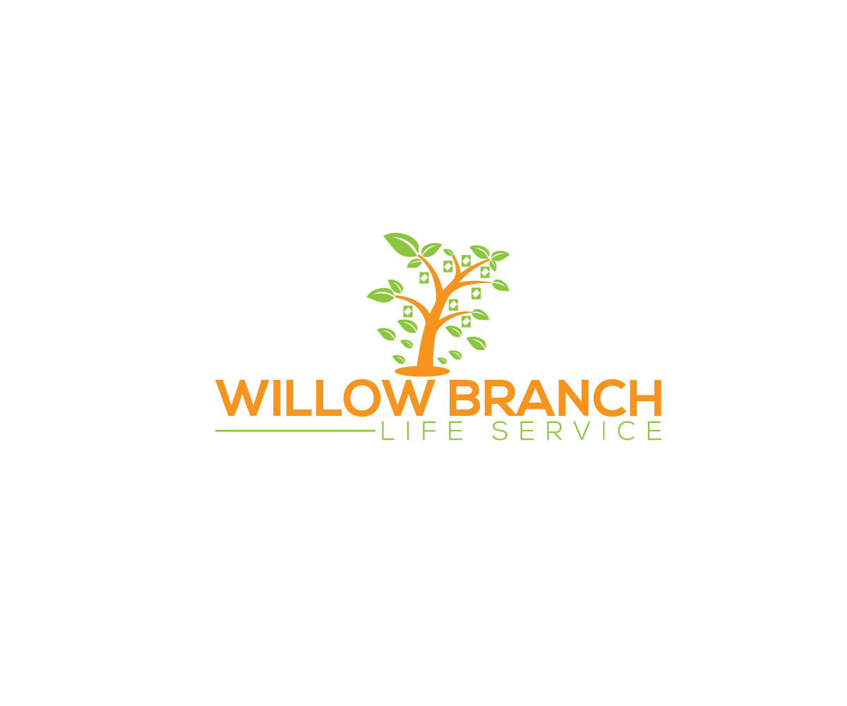 Logo Design by Naeem Billah - Entry No. 50 in the Logo Design Contest Artistic Logo Design for Willow Branch Life Service.