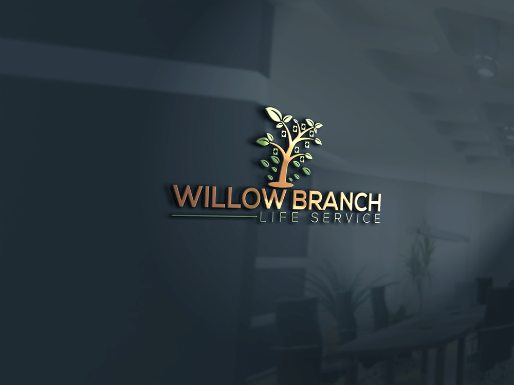 Logo Design by Naeem Billah - Entry No. 51 in the Logo Design Contest Artistic Logo Design for Willow Branch Life Service.