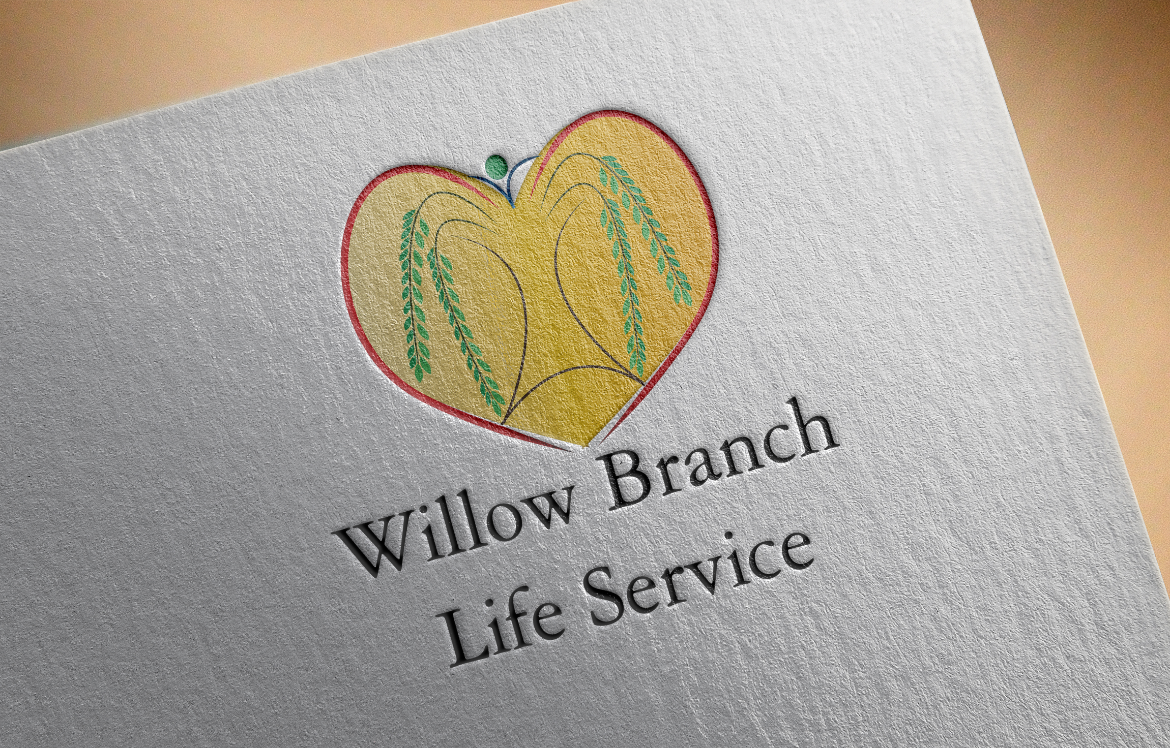 Logo Design by Goran Ledjenovic - Entry No. 53 in the Logo Design Contest Artistic Logo Design for Willow Branch Life Service.