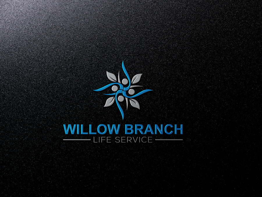 Logo Design by Imtaslim Taslima - Entry No. 56 in the Logo Design Contest Artistic Logo Design for Willow Branch Life Service.