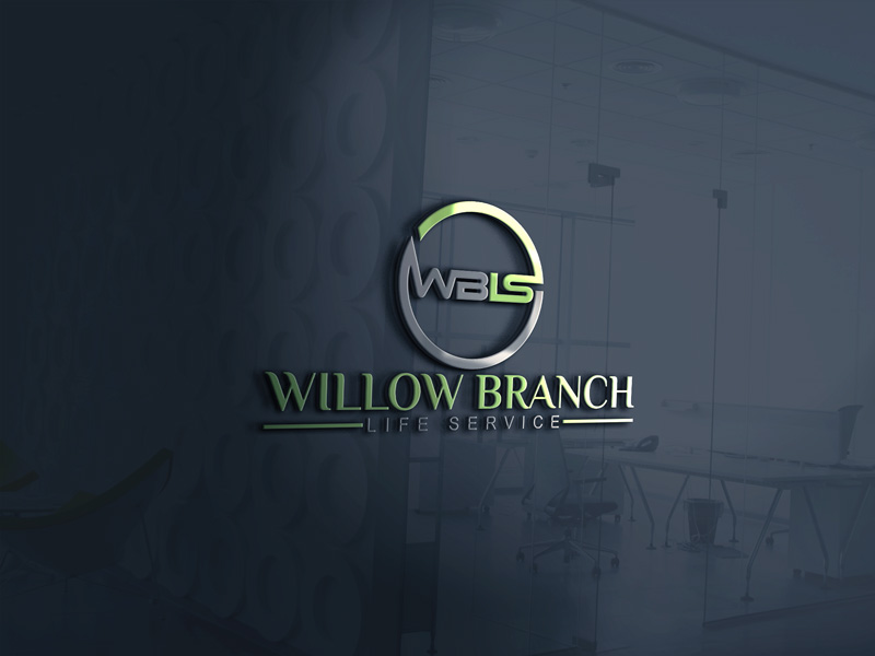 Logo Design by Ahmed Murad - Entry No. 58 in the Logo Design Contest Artistic Logo Design for Willow Branch Life Service.