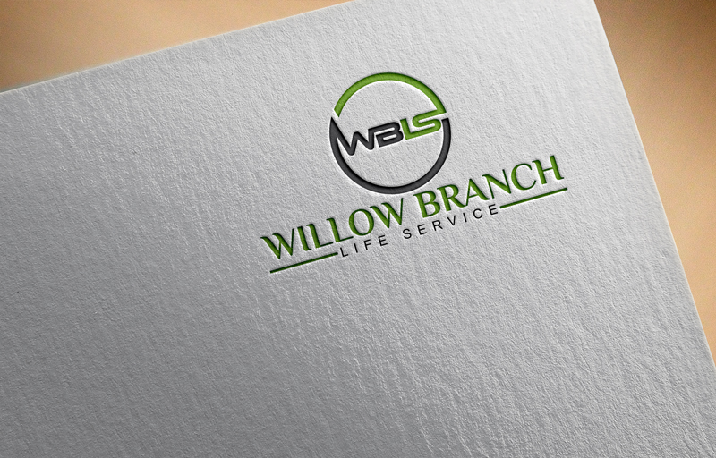 Logo Design by Ahmed Murad - Entry No. 59 in the Logo Design Contest Artistic Logo Design for Willow Branch Life Service.