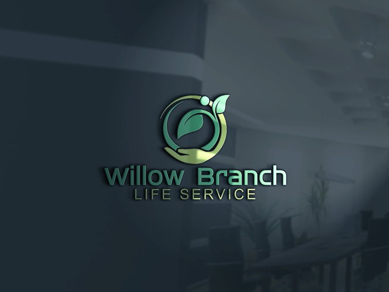 Logo Design by One Touch - Entry No. 63 in the Logo Design Contest Artistic Logo Design for Willow Branch Life Service.