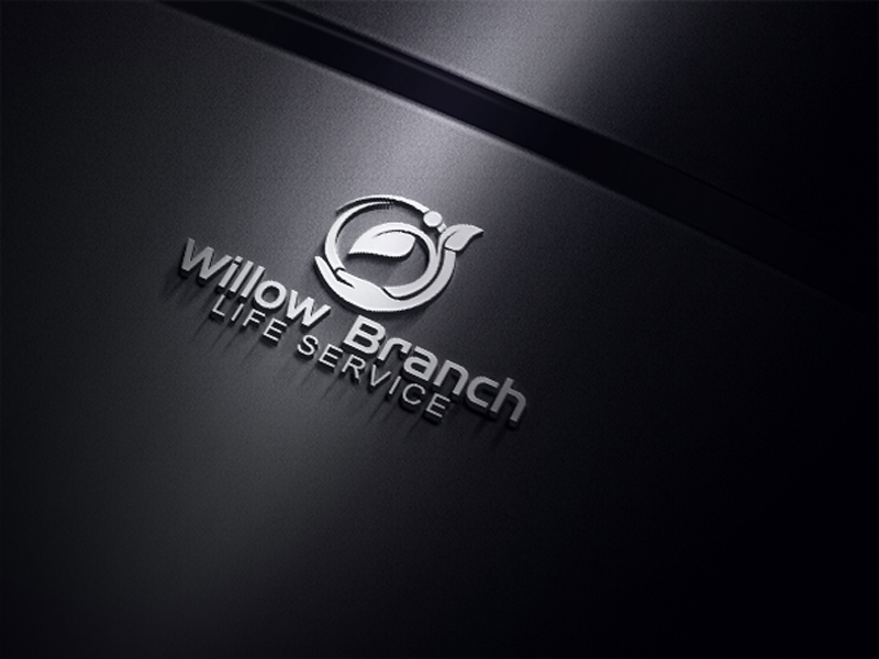 Logo Design by One Touch - Entry No. 64 in the Logo Design Contest Artistic Logo Design for Willow Branch Life Service.