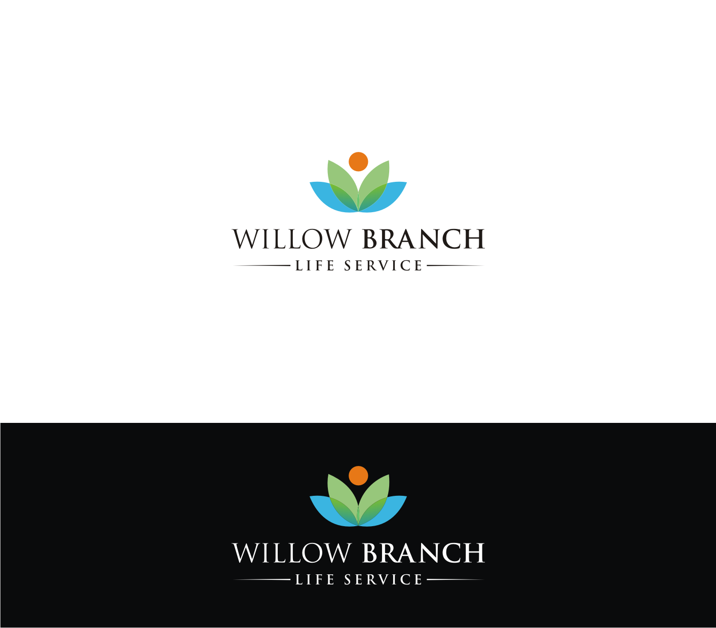 Logo Design by Sigitumarali Sigit - Entry No. 66 in the Logo Design Contest Artistic Logo Design for Willow Branch Life Service.