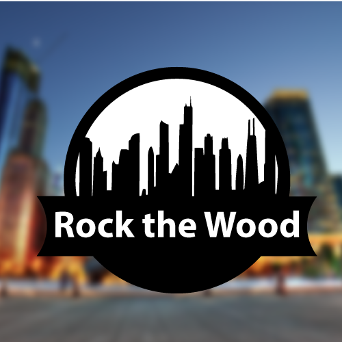 Logo Design by Mu Hagry - Entry No. 72 in the Logo Design Contest New Logo Design for Rock the Wood.