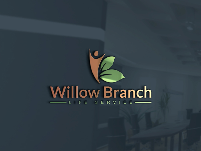 Logo Design by Kamrul Prodhan - Entry No. 69 in the Logo Design Contest Artistic Logo Design for Willow Branch Life Service.