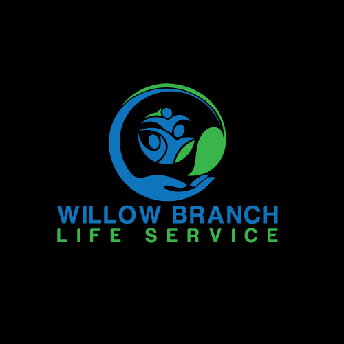 Logo Design by Maksud Rifat - Entry No. 71 in the Logo Design Contest Artistic Logo Design for Willow Branch Life Service.