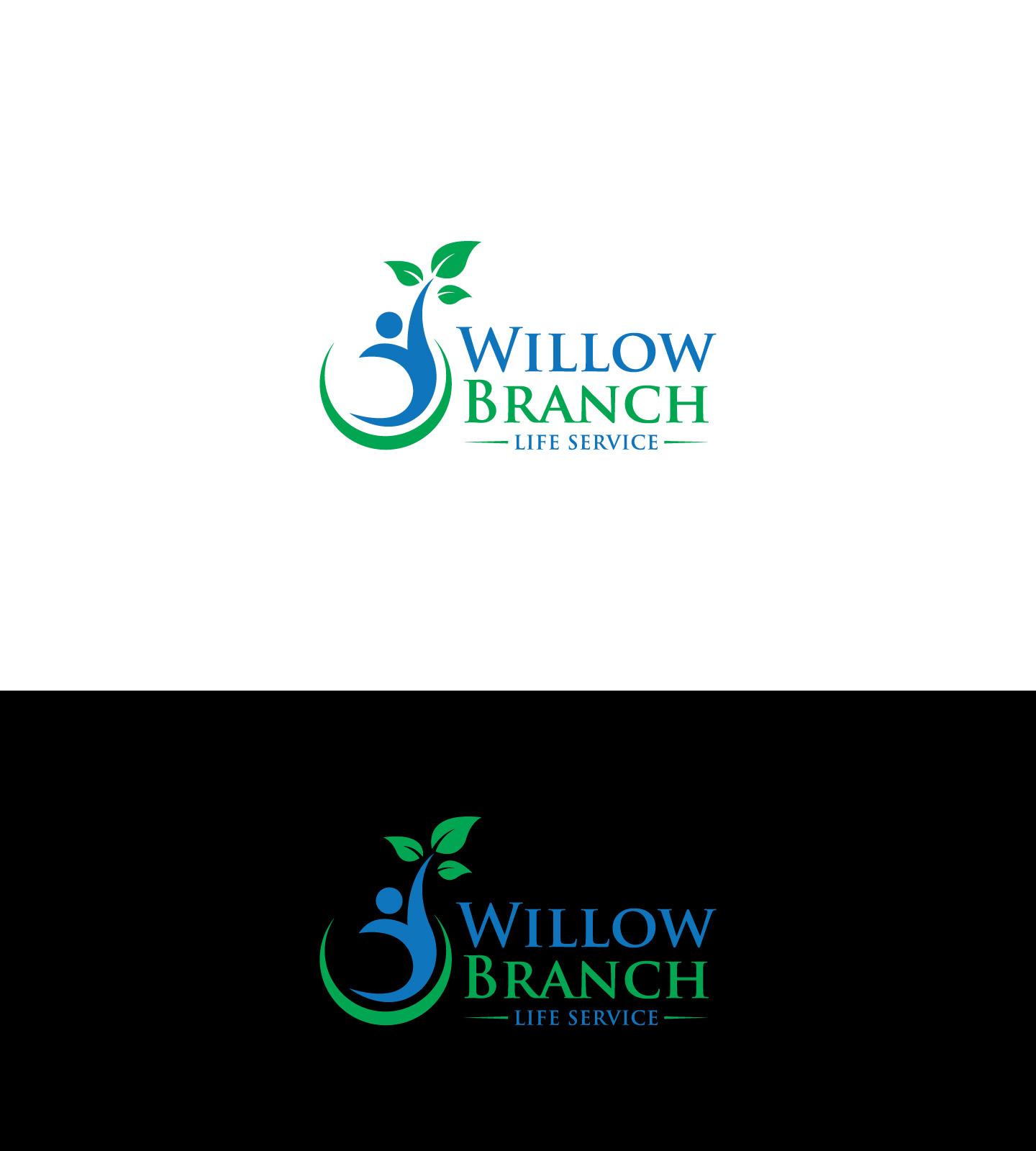 Logo Design by Raiyan Kabir - Entry No. 72 in the Logo Design Contest Artistic Logo Design for Willow Branch Life Service.