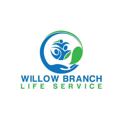 Logo Design by Maksud Rifat - Entry No. 73 in the Logo Design Contest Artistic Logo Design for Willow Branch Life Service.