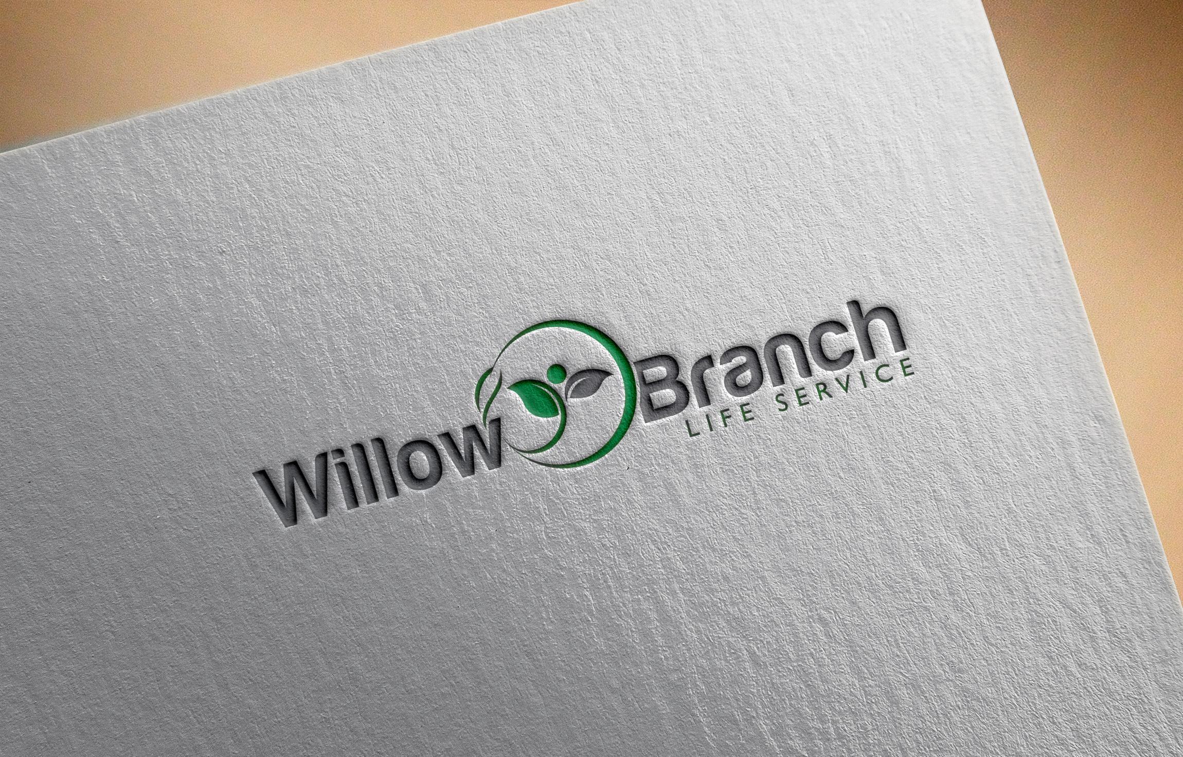 Logo Design by Raiyan Kabir - Entry No. 75 in the Logo Design Contest Artistic Logo Design for Willow Branch Life Service.