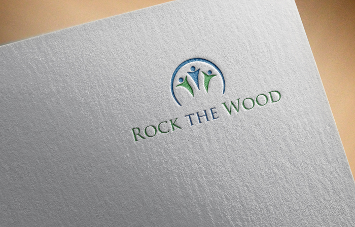 Logo Design by Mohammad azad Hossain - Entry No. 73 in the Logo Design Contest New Logo Design for Rock the Wood.