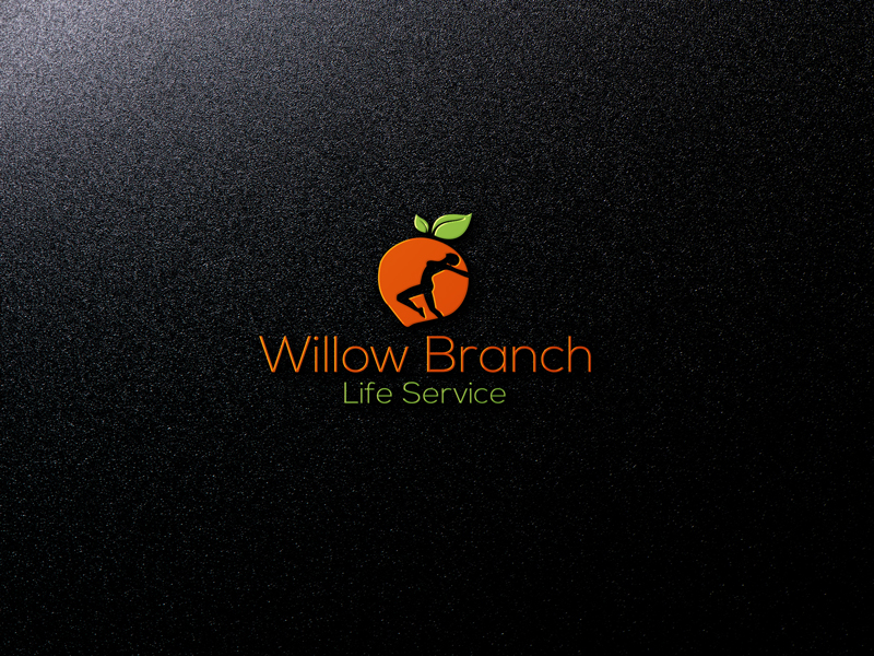 Logo Design by Mohammad azad Hossain - Entry No. 80 in the Logo Design Contest Artistic Logo Design for Willow Branch Life Service.