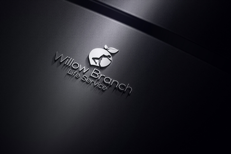 Logo Design by Mohammad azad Hossain - Entry No. 81 in the Logo Design Contest Artistic Logo Design for Willow Branch Life Service.