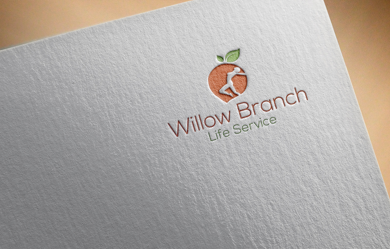 Logo Design by Mohammad azad Hossain - Entry No. 82 in the Logo Design Contest Artistic Logo Design for Willow Branch Life Service.