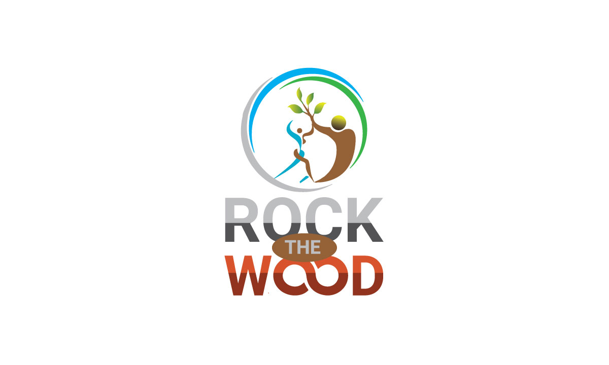 Logo Design by MD ZAHIR RAIHAN - Entry No. 79 in the Logo Design Contest New Logo Design for Rock the Wood.