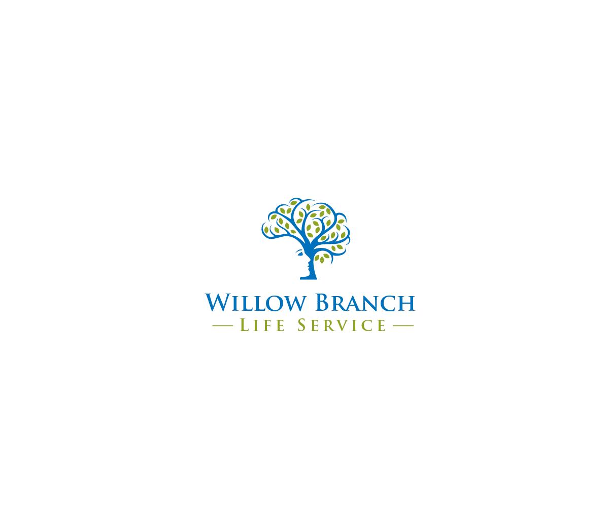 Logo Design by Juan Luna - Entry No. 86 in the Logo Design Contest Artistic Logo Design for Willow Branch Life Service.