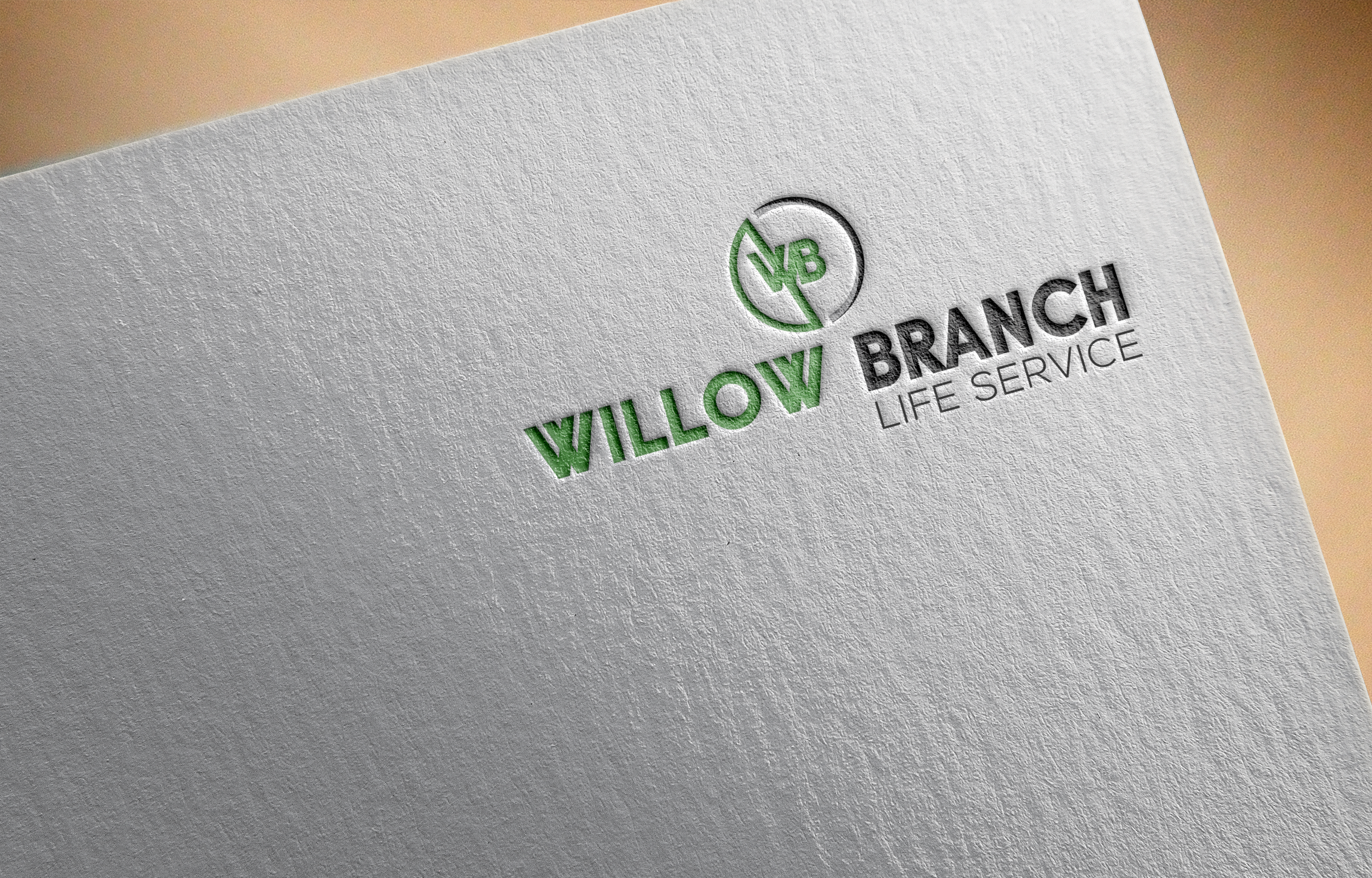 Logo Design by Ayrin Akter - Entry No. 89 in the Logo Design Contest Artistic Logo Design for Willow Branch Life Service.