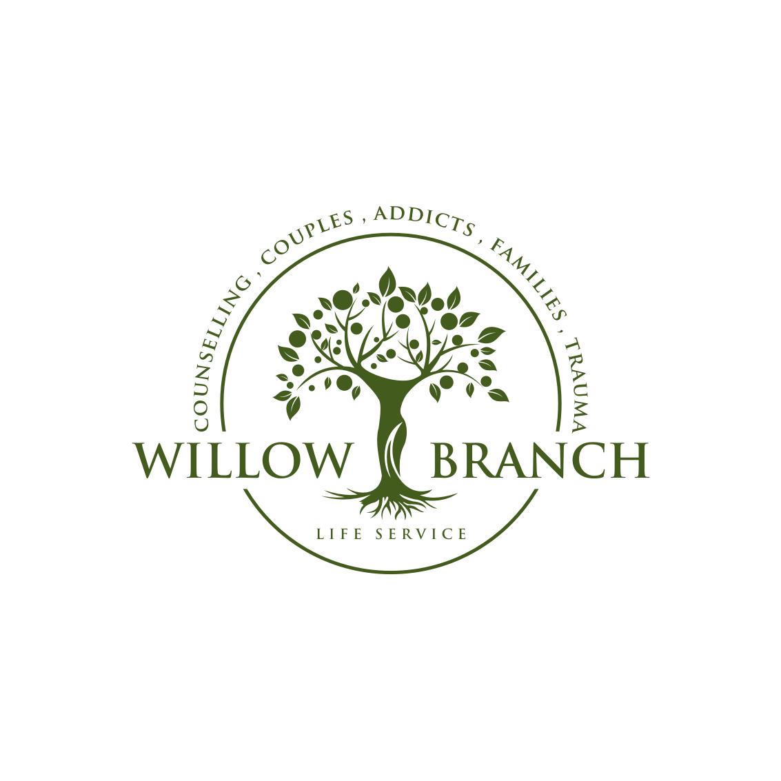 Logo Design by Analla Art - Entry No. 90 in the Logo Design Contest Artistic Logo Design for Willow Branch Life Service.
