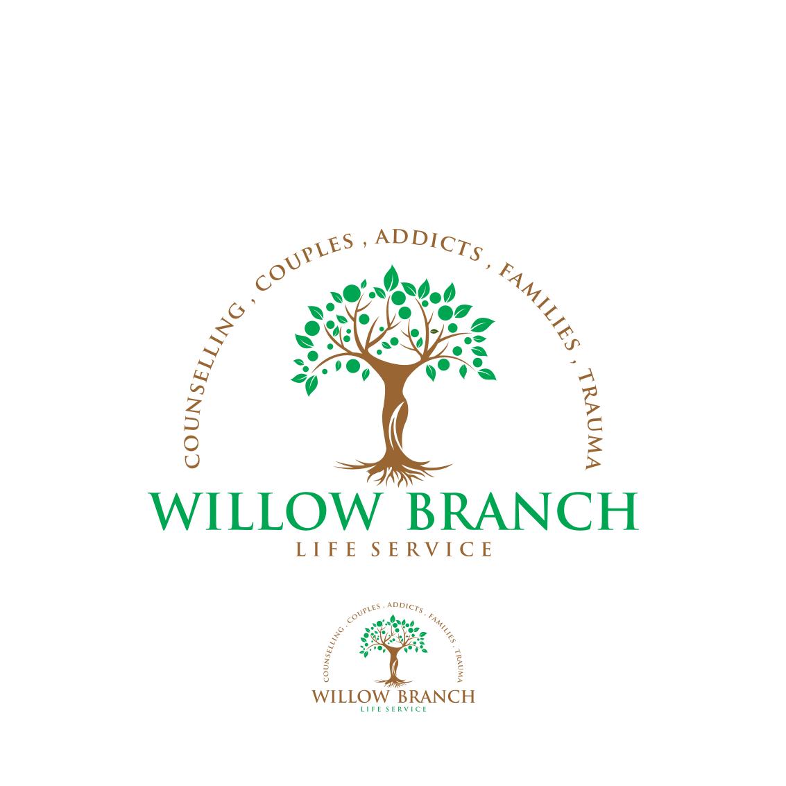 Logo Design by Analla Art - Entry No. 91 in the Logo Design Contest Artistic Logo Design for Willow Branch Life Service.