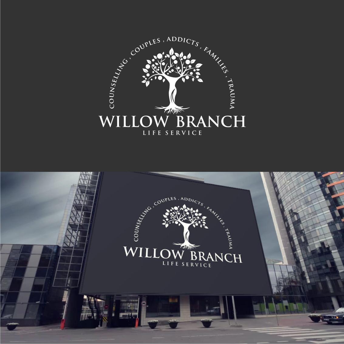 Logo Design by Analla Art - Entry No. 92 in the Logo Design Contest Artistic Logo Design for Willow Branch Life Service.