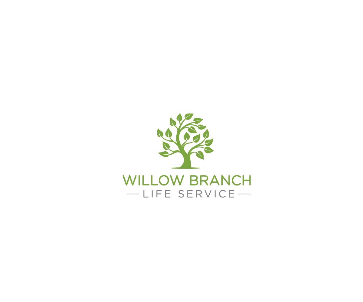 Logo Design by Juan Luna - Entry No. 93 in the Logo Design Contest Artistic Logo Design for Willow Branch Life Service.