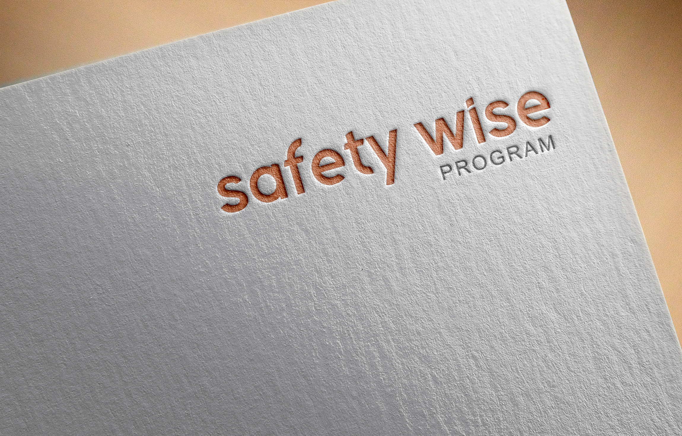 Logo Design by Ayrin Akter - Entry No. 136 in the Logo Design Contest New Logo Design for Safety Wise Program.