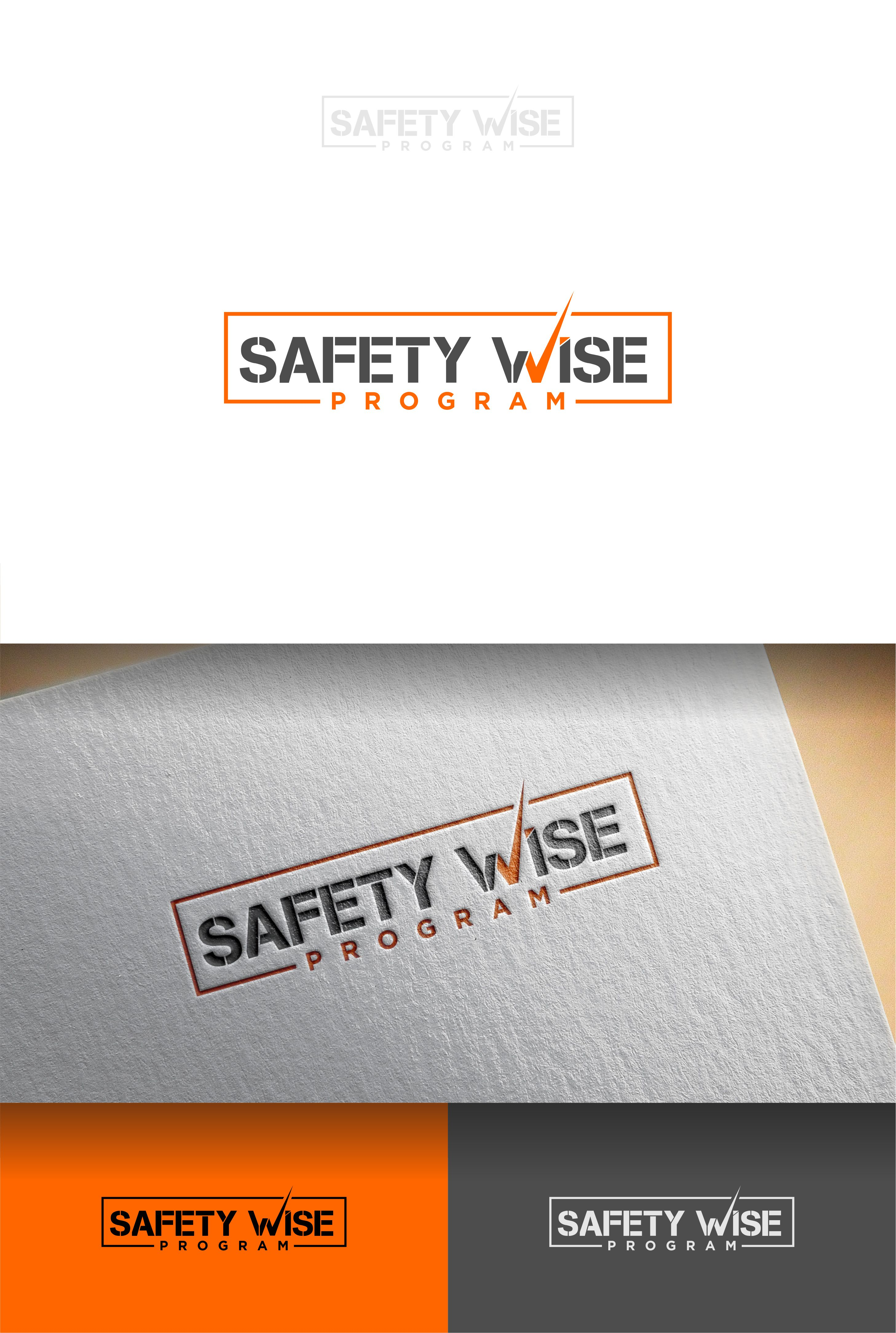 Logo Design by Raymond Garcia - Entry No. 141 in the Logo Design Contest New Logo Design for Safety Wise Program.