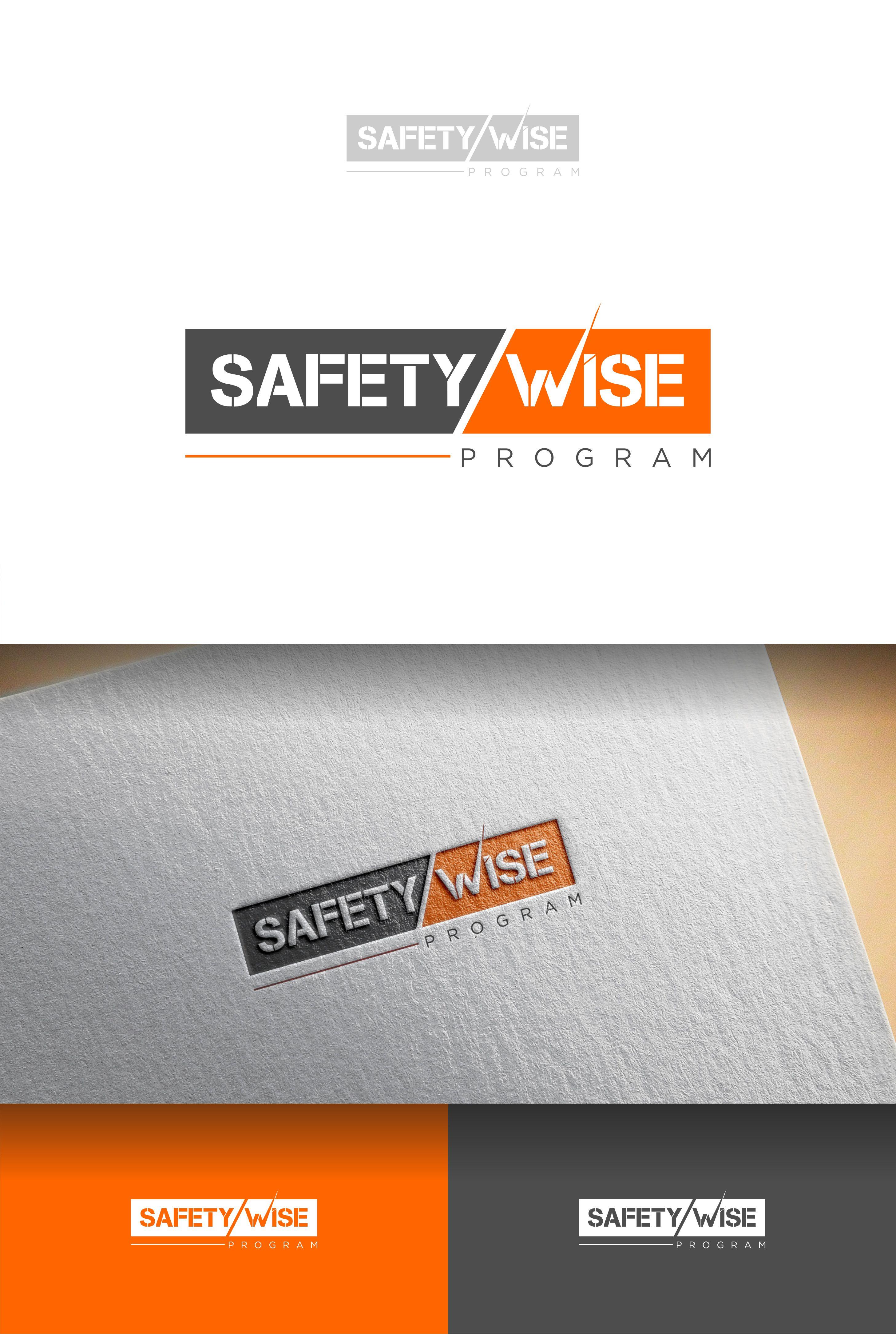 Logo Design by Raymond Garcia - Entry No. 142 in the Logo Design Contest New Logo Design for Safety Wise Program.