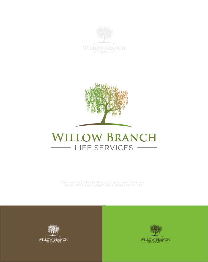 Logo Design by Raymond Garcia - Entry No. 100 in the Logo Design Contest Artistic Logo Design for Willow Branch Life Service.