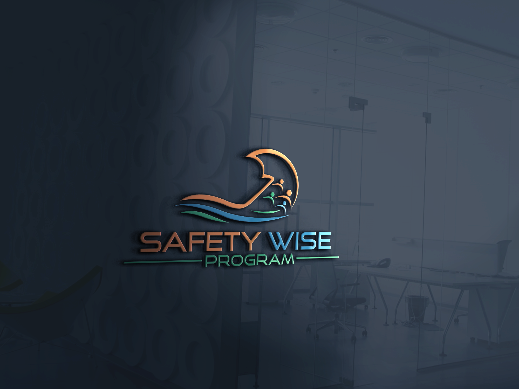 Logo Design by Prohor Ghagra - Entry No. 143 in the Logo Design Contest New Logo Design for Safety Wise Program.