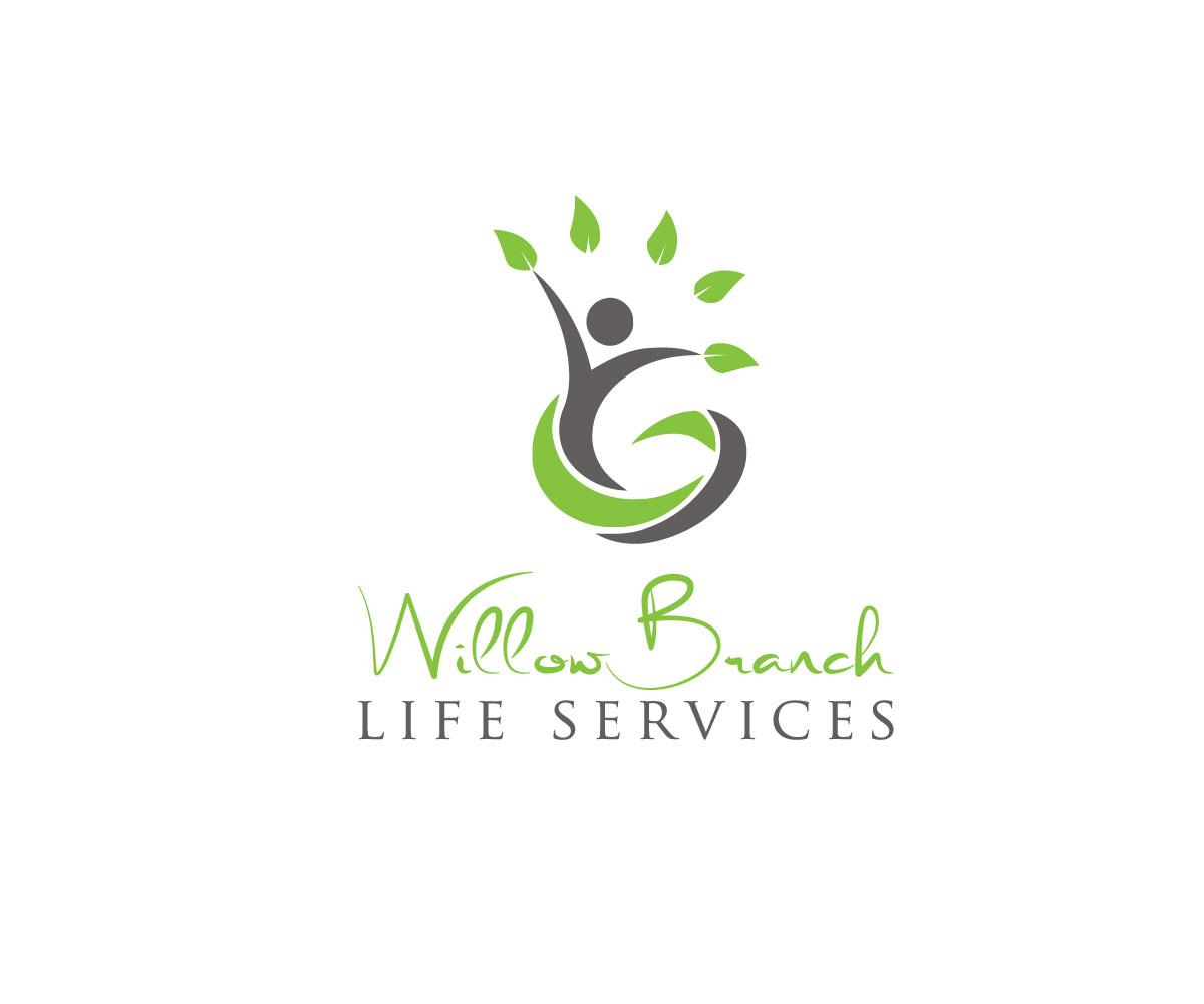 Logo Design by Highexpert Design - Entry No. 106 in the Logo Design Contest Artistic Logo Design for Willow Branch Life Service.