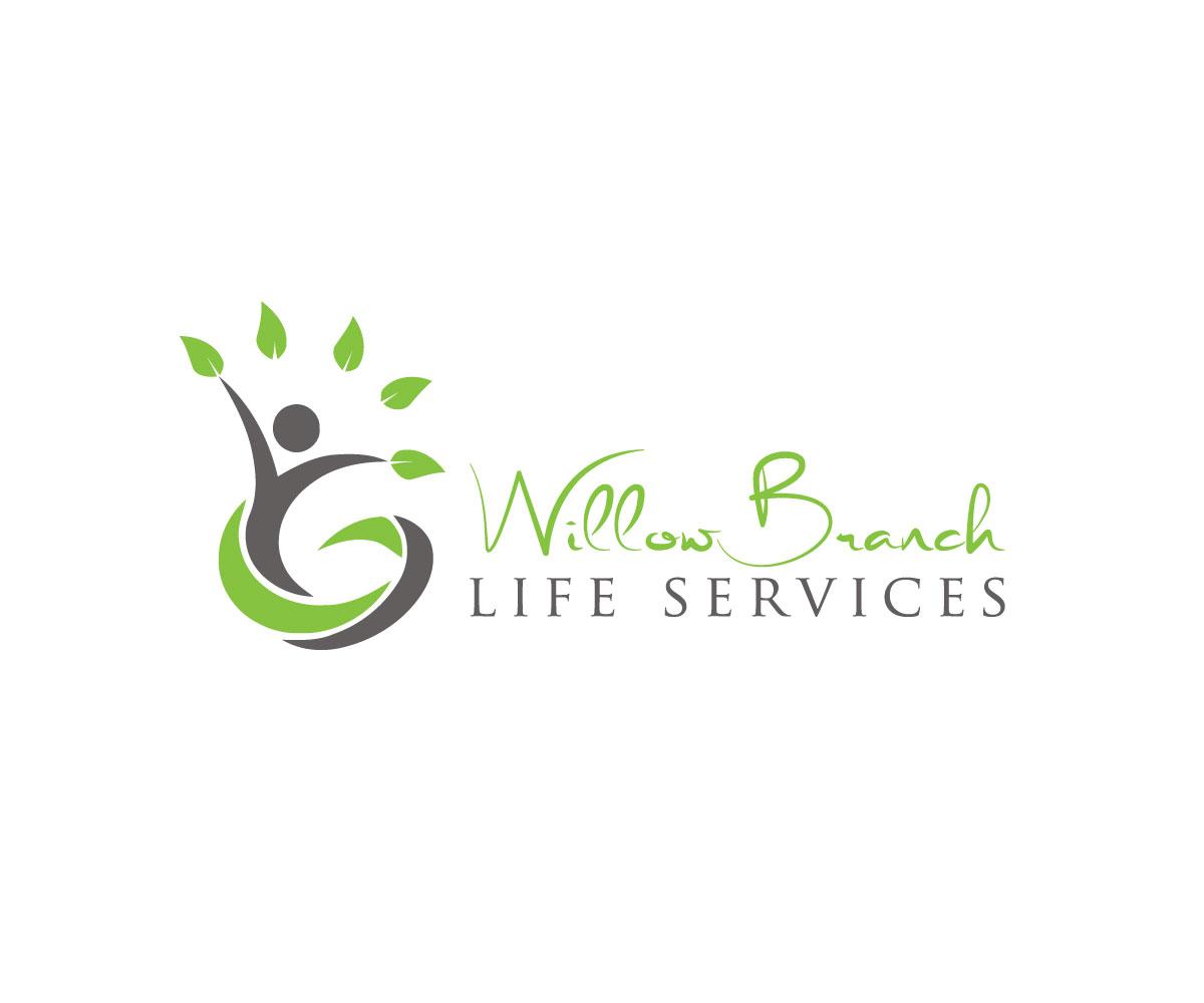 Logo Design by Highexpert Design - Entry No. 108 in the Logo Design Contest Artistic Logo Design for Willow Branch Life Service.