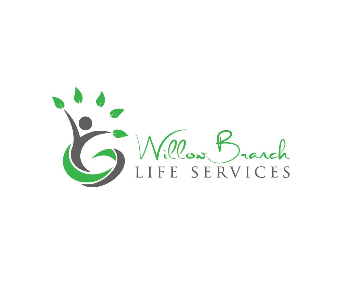 Logo Design by Highexpert Design - Entry No. 109 in the Logo Design Contest Artistic Logo Design for Willow Branch Life Service.