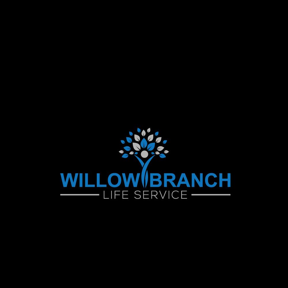 Logo Design by Imtaslim Taslima - Entry No. 111 in the Logo Design Contest Artistic Logo Design for Willow Branch Life Service.